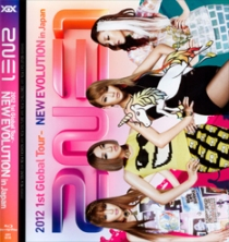 2NE1 2012 1st Global Tour NEW EVOLUTION in Japan Blu-ray