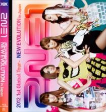 2NE1 2012 1st Global Tour NEW EVOLUTION in Japan Blu-ray