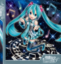 Hatsune Miku -Project Diva-F Complete Collection Blu-ray