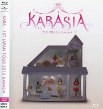 KARA Karasia 2012 The 1st Concert Blu-ray