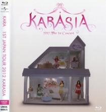 KARA Karasia 2012 The 1st Concert Blu-ray