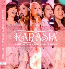 KARA KARASIA 2013 HAPPY NEW YEAR in TOKYO DOME Blu-ray