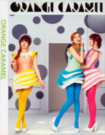 ORANGE CARAMEL Variety DVD
