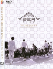 ZEA FIVE Special DVD Thank You For ZEA's