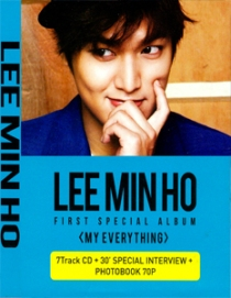 LEE MIN HO First Special Album MY EVERYTHING DVD