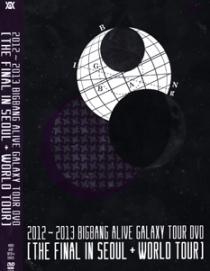 BIGBANG ALIVE GALAXY TOUR DVD 2012 2013 THE FINAL IN SEOUL & WORLD TOUR