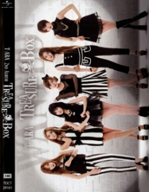 T-ARA TREASURE BOX Sapphire Version DVD