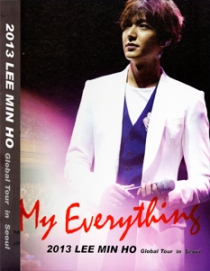 LEE MIN HO My Everything DVD 2013 Global Tour in SEOUL