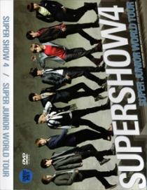 SUPER JUNIOR SUPER SHOW 4