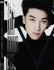 VI SEUNGRI LET'S TALK ABOUT LOVE DVD