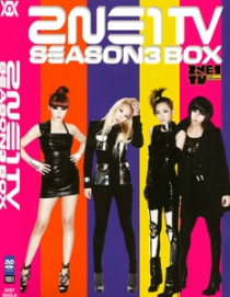 2NE1 TV SEASON 3 BOX