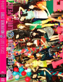 GIRLS'GENERATION Japan 3rd ALBUM LOVE & PEACE