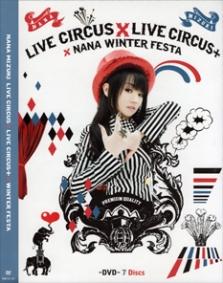 Nana Mizuki Live Circus Circus + Winter Festa