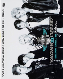 SHINee The 3rd Concert Album SHINee WORLD Ⅲ in SEOUL