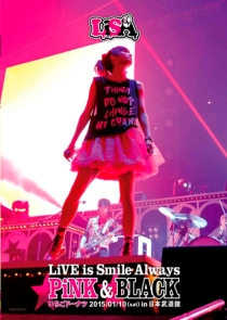 LiSA Live Is Smile Always Pink&Black In Nippon Budokan Ver. Ichigo Doughnut